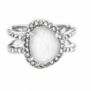 Chloe + Isabel Bianca Double Band Ring-8
